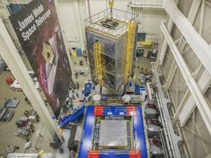JWST vibration tests, Credits: NASA/Chris Gunn