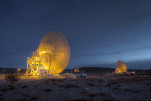 The Goldstone Deep Space Communications Complex in California. Credit: NASA/ NASA/ JPL-Caltech.