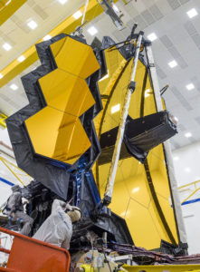 Deployment tests like these help safeguard mission success by physically demonstrating that NASA's James Webb Space Telescope is able to move and unfold as intended. Credits: NASA/Chris Gunn