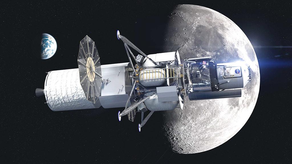 National Team human lunar lander. Credit: Blue Origin